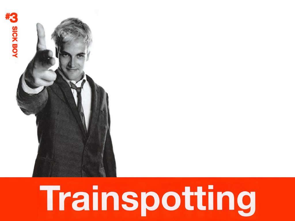 Sick Boy Trainspotting